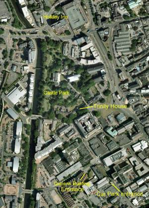 De Montfort University Campus map